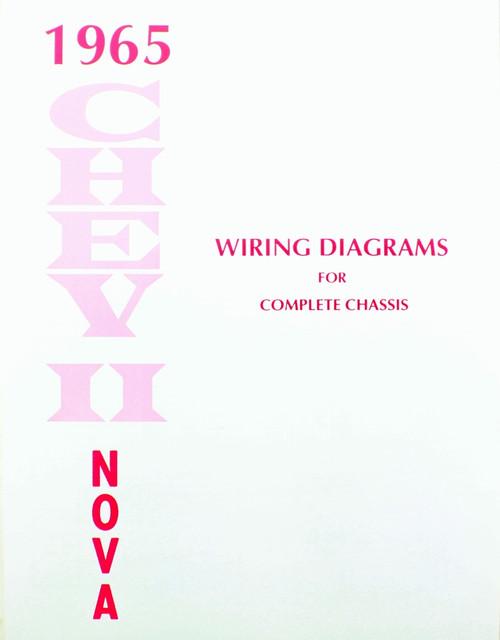 1965 nova wiring schematic 65 1965 chevy nova electrical wiring diagram manual i 5 classic  65 1965 chevy nova electrical wiring