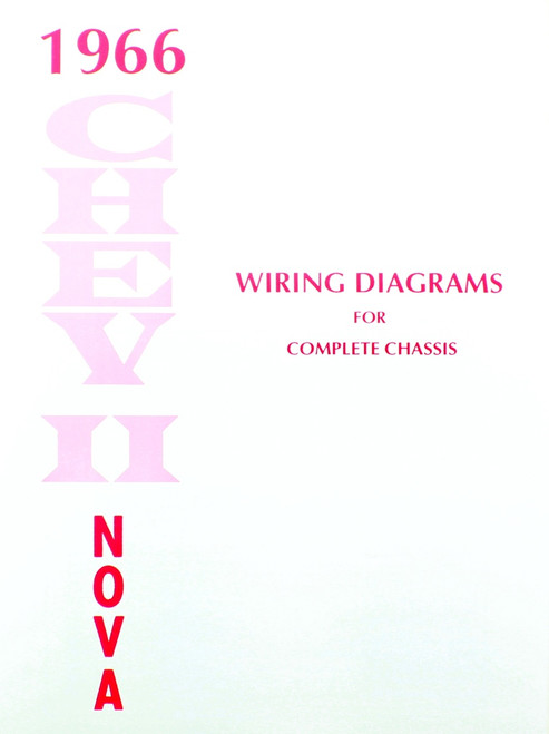 66 Chevy Nova Electrical Wiring Diagram Manual 1966 I 5 Classic Chevy