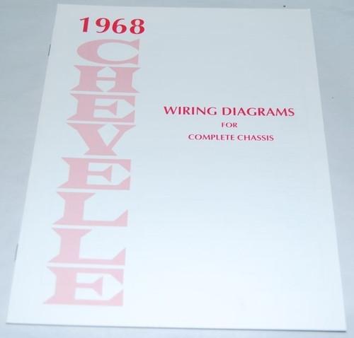 68 Chevelle El Camino Electrical Wiring Diagram Manual ...