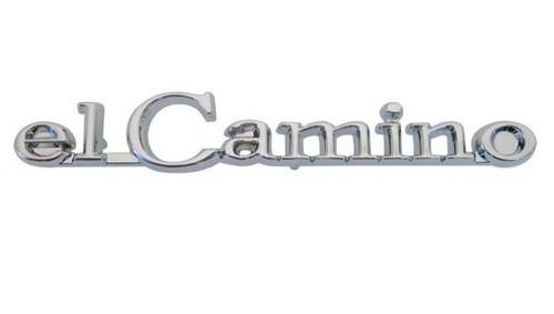 68 69 1968 1969 Chevy El Camino Header Panel Hood Emblem