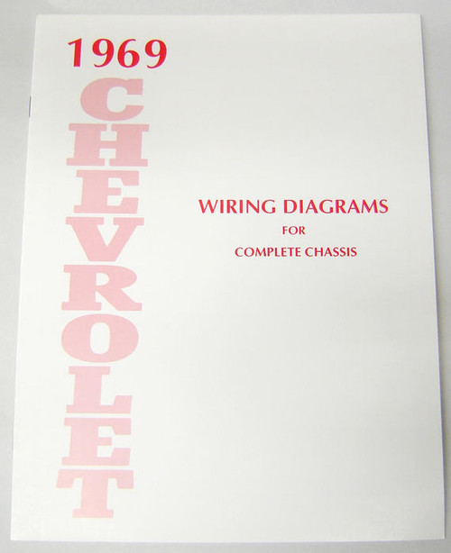 69 Chevy Impala Electrical Wiring Diagram Manual 1969 I 5 Classic Chevy