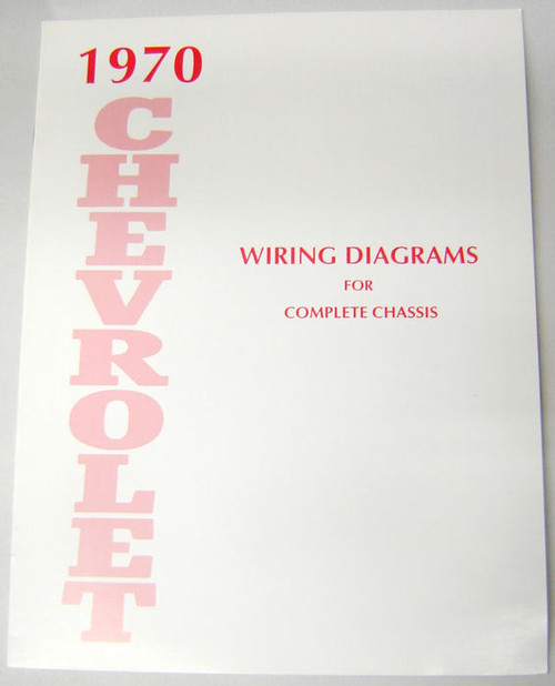 70 1970 Chevy Impala Electrical Wiring Diagram Manual I 5 Classic Chevy
