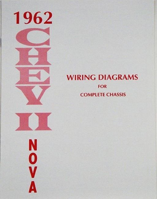 62 1962 chevy nova electrical wiring diagram manual - i-5 classic chevy  i-5 classic chevy