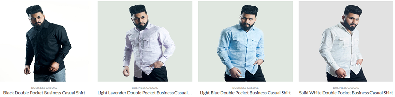 LGFG business casual mens dress shirts for wholesale distribution