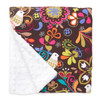 "Birds of Norway Large Baby Blanket (27"" x 29"")"