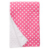 "Pink Dot XL Baby Blanket (42"" x 32"")"