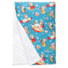 "Retro Rockets XL Baby Blanket (42"" x 32"")"