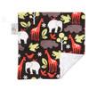 "Zoology Mini Baby Blanket (12"" x 12"")"
