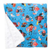 "Baby Red Beard Large Baby Blanket (27"" x 29"")"