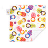"Little Kukla Mini Baby Blanket (12"" x 12"")"
