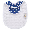 Blue Dot Bib Back