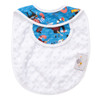 Baby Red Beard Bib Back