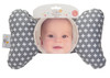 Grey Cross Baby Neck Pillow