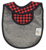 Buffalo Plaid Bib Back