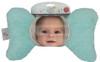 Aqua Minky Baby Pillow