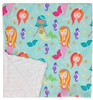 "Mermaid Large Blanket (27"" x 29"")"