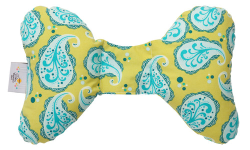 Playful Paisley Head Support Pillow