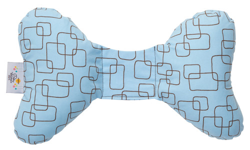 Blue Mod Head Support Pillow