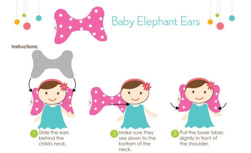 Little Kukla Baby Elephant Ears