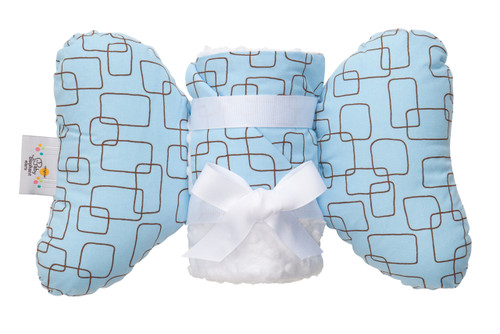 Blue Mod Square Infant Head Support