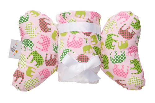 Pink Elephant Infant Head Support