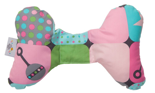 Pink Organic Little Ones Baby Head Support