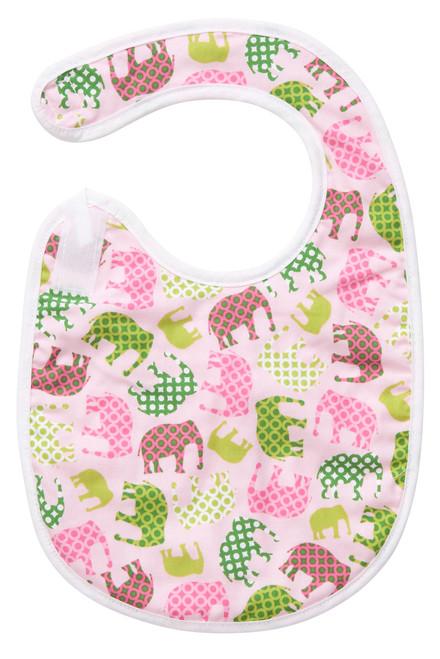 Pink Elephant Bib Baby Elephant Ears