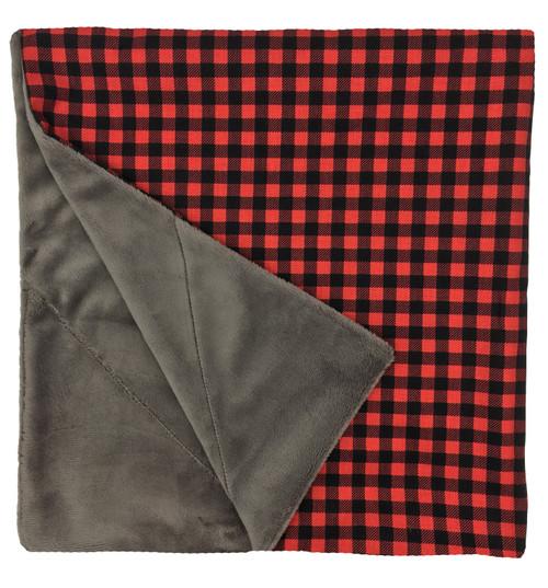 """Buffalo Plaid Large Blanket (27"""" x 29"""")"""