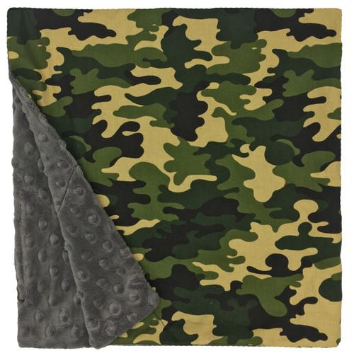 "Camo Large Blanket (27"" x 29"")"
