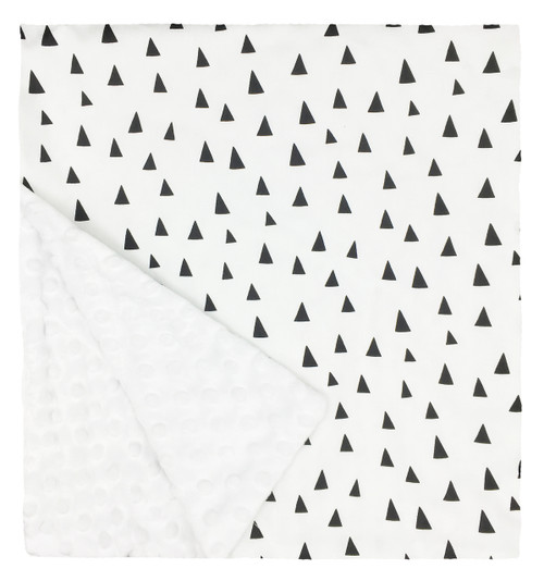 "Tiny Triangles Large Blanket (27"" x 29"")"