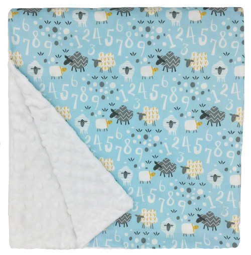 "Counting Sheep Large Blanket (27"" x 29"")"