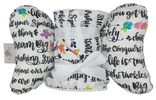 Believe Gift Set (Elephant Ear + Large Blanket)