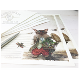 Professor MacCrumb Steampunk Art Paper Set