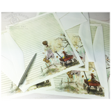 Best Buddies Girl Zombie Writing Paper Set