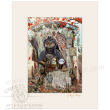 The Gypsy Fortune Teller with Lovely Mat