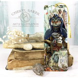 The Gypsy Fortune Teller Bookmark