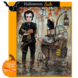 SALE - Edgar Allan Poe Goes to a Magical School