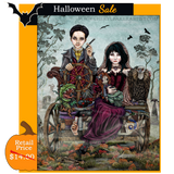SALE - Gomez and Morticia Goes to a Magical School