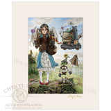 Dorothy Goes to a Magical School with Lovely Mat