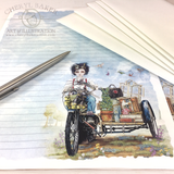 Edward Goes to a Magical School Stationery Paper Set