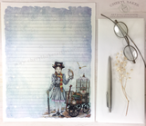 Mary Goes to a Magical School Stationery Paper Set