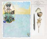 The Mermaid Kingdom Stationery Paper Set
