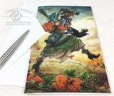 The Pumpkin Herder Greeting Card