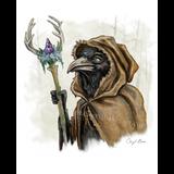 Priestess Black Bird