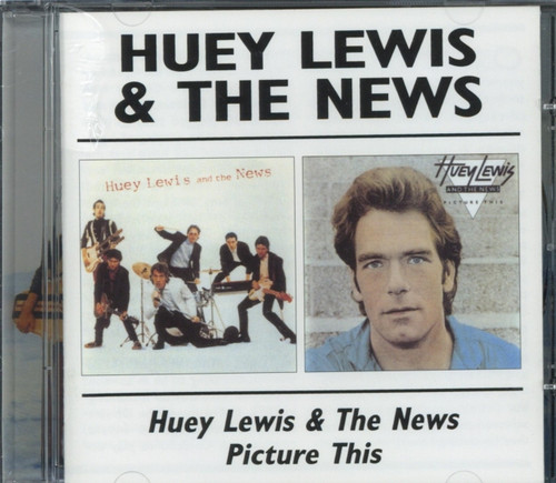 Huey Lewis And The News - S/T & - Picture This - CD - 2 Albums on 1 CD