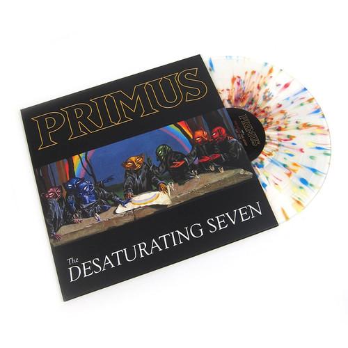 Primus - The Desaturating Seven - Rainbow Splatter Colored Vinyl LP