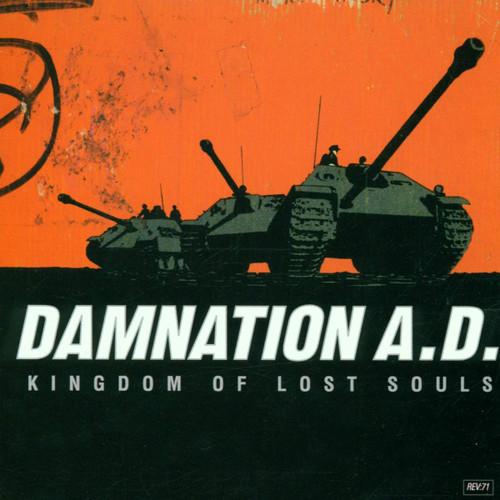 Damnation A.D. - Kingdom Of Lost Souls - Colored Vinyl - LP