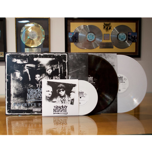 Naughty By Nature - Poverty's Paradise (25th Anniversary Smoky Vinyl) - 2xLP