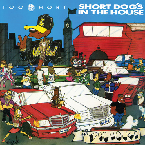 Too $hort  - Short Dog's In The House  - LP w/ poster