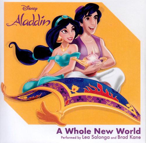 "Aladdin - A Whole New World - 3"""